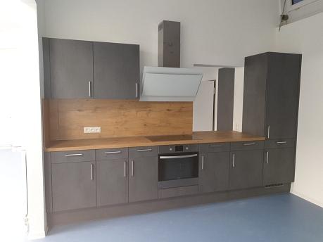 Bild einer der 4 Küchenzeilen der neuen Schulküche©Förderverein Grundschule am Bach