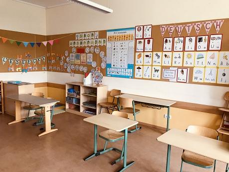 Klassenraum 1a Frau Tropper©Grundschule am Bach