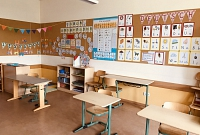 Klassenraum 1a Frau Tropper