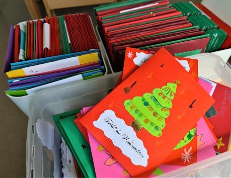 Weihnachtskarten©Grundschule am Bach